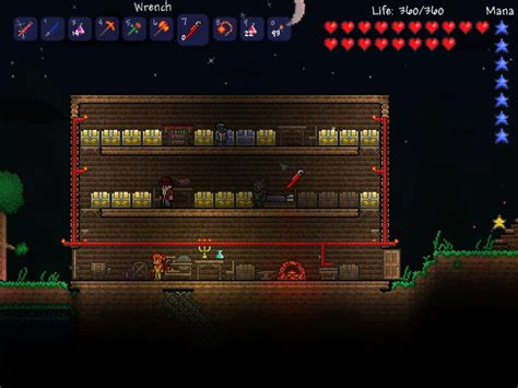 terraria work bench wire creations terraria wiki fandom powered by wikia