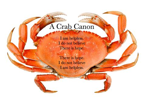 crab canon poetry
