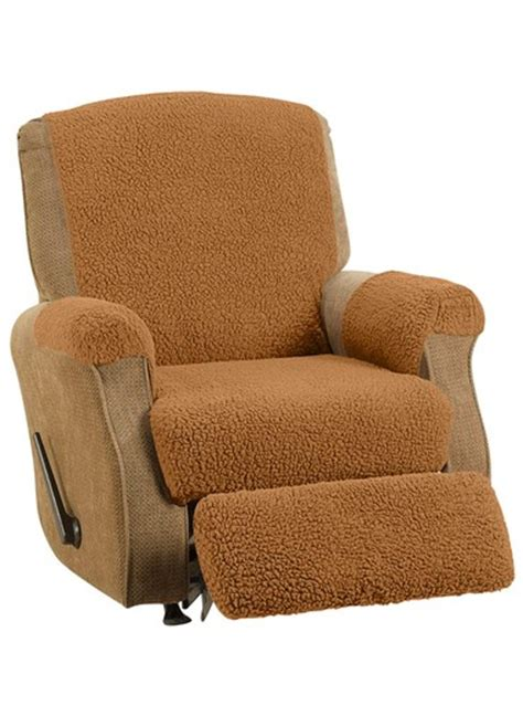 Fleece Recliner Cover by Fleece Recliner Cover Set Carolwrightgifts