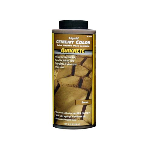 quikrete 10 oz liquid cement brown 131701 the home depot