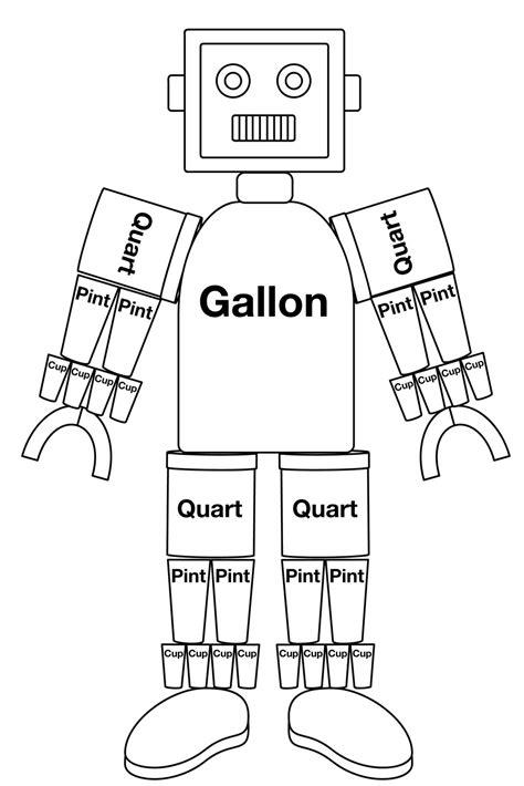 gallon template gallon goes to space eteams
