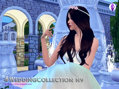 N9 New Collection development version luxysims3 s wedding collection n9