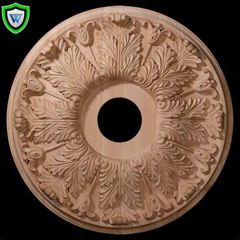 decorative wood millwork wood ceiling medallions