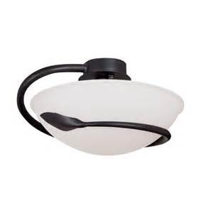 Searchlight Ceiling Lights Searchlight 2901br Cobra 1 Light Brown Semi Flush Ceiling Light