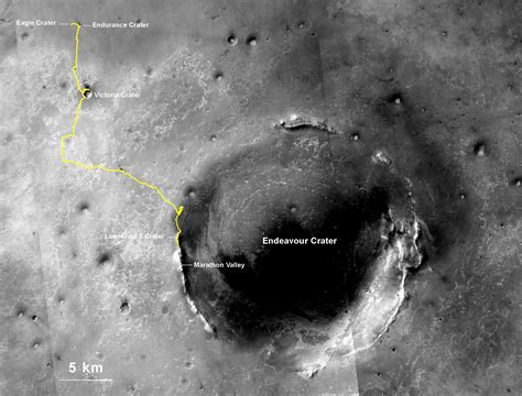 how many rovers landed on mars nasa s lived mars opportunity rover sets world