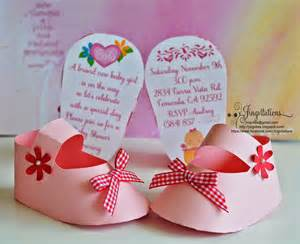 jingvitations 3d invitations unique baby shoe invites for baby shower