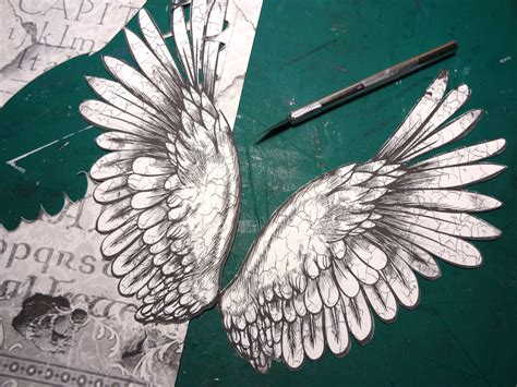 thesis statement for a with wings how to make an wing l shade with mixed media