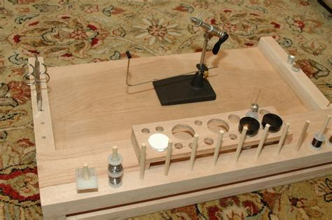 homemade fly tying bench diy fly tying bench plans woodguides