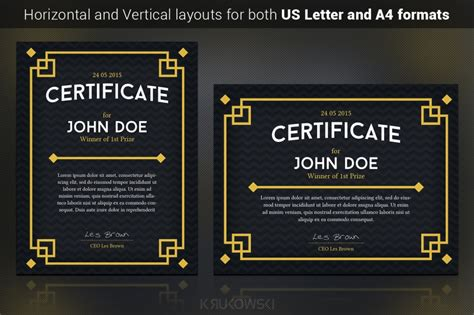 cool certificate templates take a look at the most popular gift certificate templates