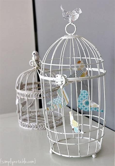 Paper Bird Cage Craft - a princess needs birdies simply notable