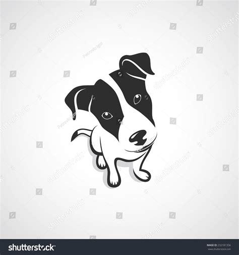 jack tattoo logo jack russell terrier vector illustration stock vector