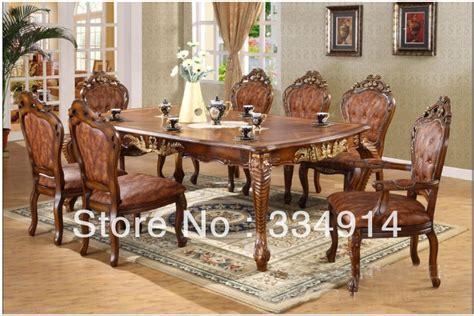 european dining room sets oak dining table european paper art archaize furniture
