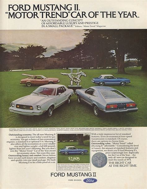 car manuals free online 1974 ford mustang auto manual 1974 ford mustang ad 03