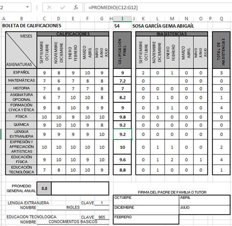 2017 grupo1 dimensionamientotecnico evaluaci 243 n de proyectos boleta de calificaciones primaria 2016 2017 boleta de