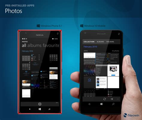 windows 8 1 mobile in pictures comparing windows phone 8 1 and windows 10
