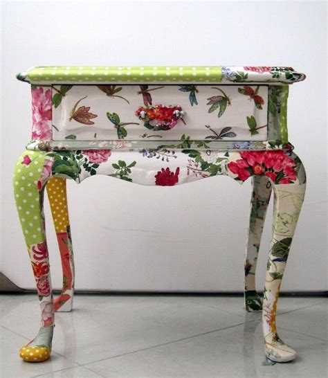 Ideas For Decoupage On Furniture - 39 furniture decoupage ideas give things a second