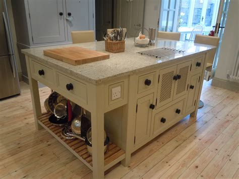 Freestanding Kitchen Island Unit T14 Kitchen Island Unit With Microwave Cupboard The Olive Branch Kitchens Ltd