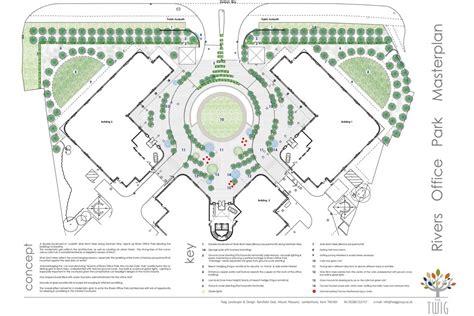 design concept group rivers office park design landscape concept design