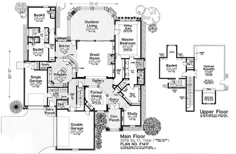 Fillmore House Plans F1417 Fillmore Chambers Design