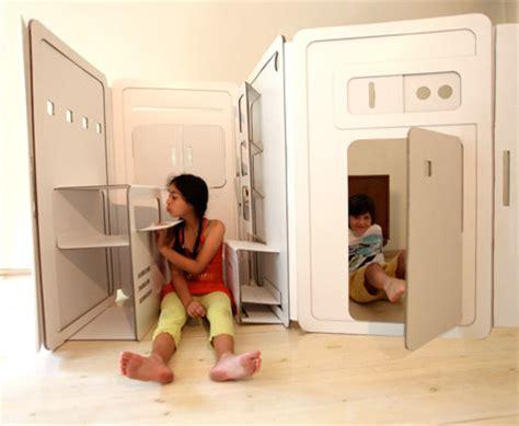 Mainan Anak Rumah Rumahan Duo Play House daur ulang benda kreatif dari kardus cardbox