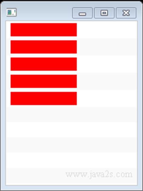 javafx layout null javafx tutorial javafx listview