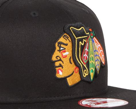 blackhawks snapback new era chicago blackhawks nhl black basic 9fifty snapback new era