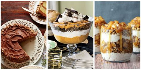 40 easy thanksgiving desserts recipes best ideas for thanksgiving desserts