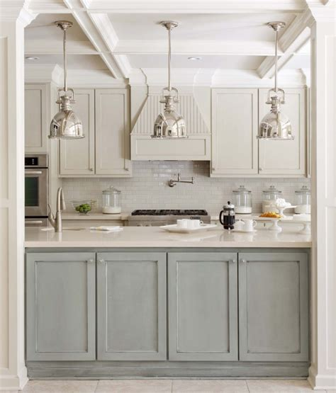 Kitchen Cabinet Marble Top 35 Two Tone Kitchen Cabinets To Reinspire Your Favorite Spot In The House