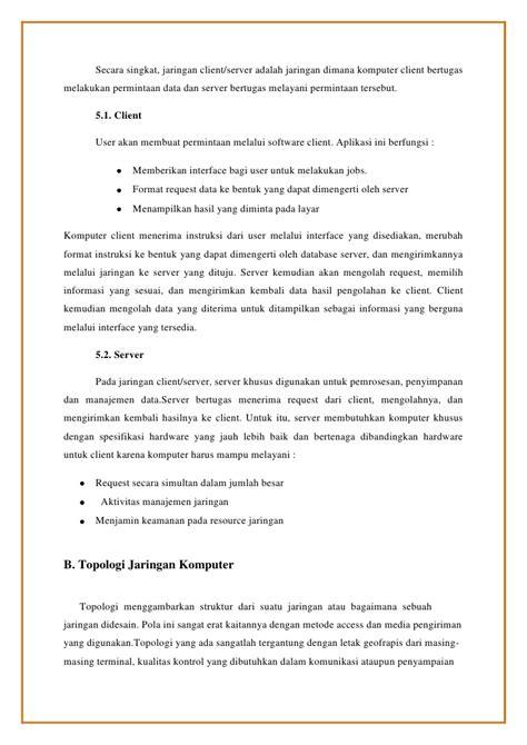 Kumpulan Contoh Surat Instruksi by Makalah Format Instruksi Makalah Jaringan Komputer