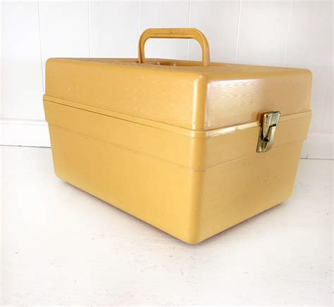 sewing pattern storage boxes vintage wil hold plastic sewing pattern storage boxyellow