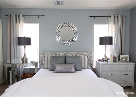 modern and glam master bedroom reveal the homes i made