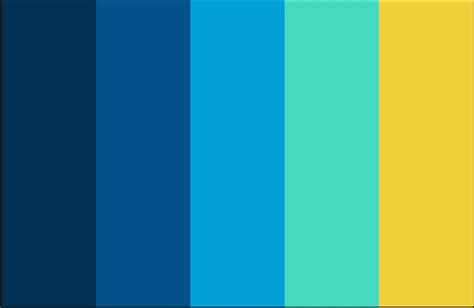 yellow and blue color schemes color scheme yellow sky blue navy schemes pinterest