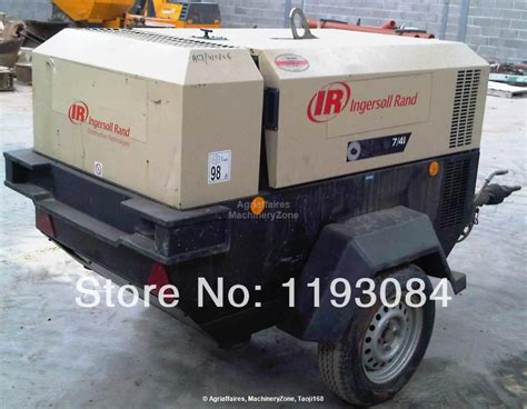 7 41 141cfm 100psig ingersoll rand portable type compressor doosan mobile compressor in