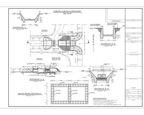 fungsi layout autocad exles of design drawings irrigation rancang griya