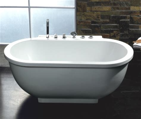 Discount Jetted Tubs Whisper Brand New Ariel Am128 Jetted Whirlpool Bathtub