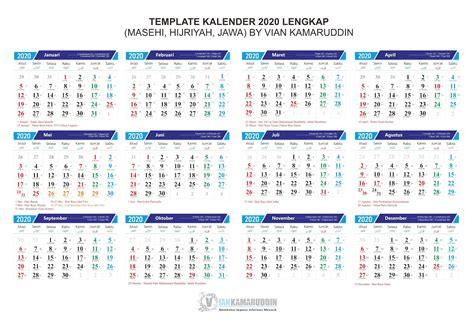 desain kalender  lengkap sosialpost