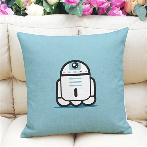 R2d2 Pillow by Flax Wars Yoda Imperial Stormtrooper R2d2 Throw