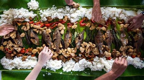 banana leaf rice   eat    authentic south