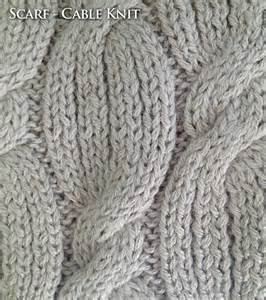 Beautiful cable knit scarf made with 100 baby alpaca this is a