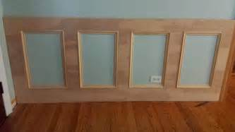 How To Make Wainscoting Panels How To Make A Recessed Wainscoting Wall From Scratch