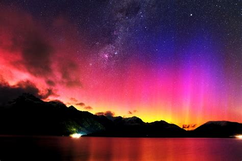 southern lights september 11th queenstown new zealand minoru yoneto