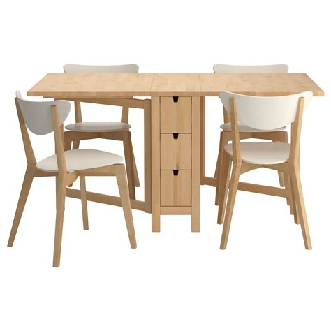the table ikea norden nordmyra table and 4 chairs ikea for the
