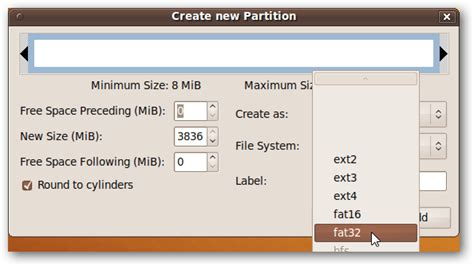 format fat32 in ubuntu how to format a usb drive in ubuntu using gparted