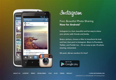 android instagram instagram sur android est l 224 les br 232 ves par wesaw it