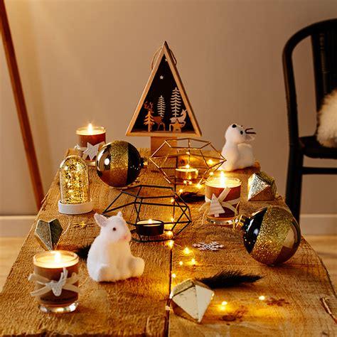 Decoration De La Table De Noel by D 233 Coration De Table De No 235 L Nos 10 Coups De Cœur But