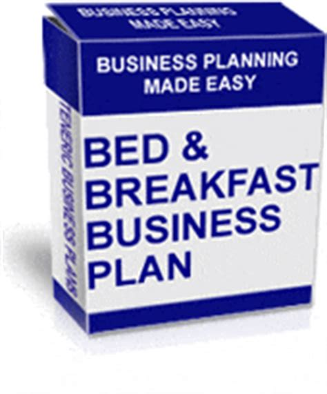 bed and breakfast business plan template bed and breakfast business plan specific for bed and