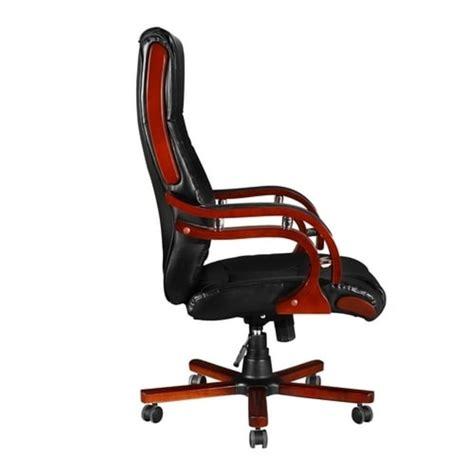 sedia direzionale sedia poltrona ufficio girevole direzionale pelle e legno