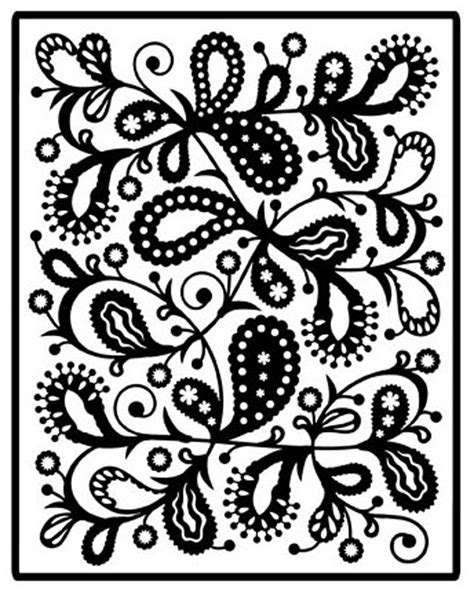 My Time To Play Flowers Impressabilities Paisley Stencil Templates Free