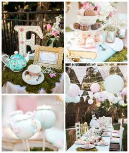 Alice In Wonderland Decorating Ideas Kara S Party Ideas Shabby Chic Alice In Wonderland