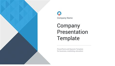 Open Office Presentation Templates Card Layout by Powerpoint Company Presentation Templates Free Now